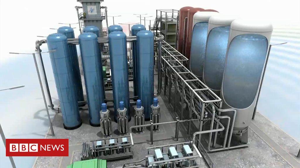 Resultado de imagem para O sistema de resfriamento que armazena o excedente de energia como gás liquefeito