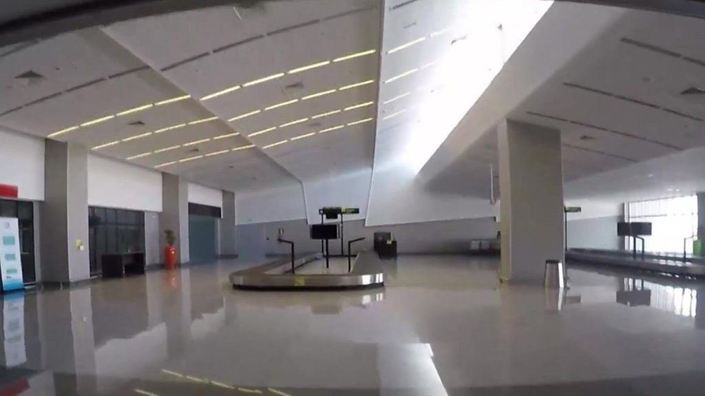 The luxurious ghost airport in one of the world's poorest countries