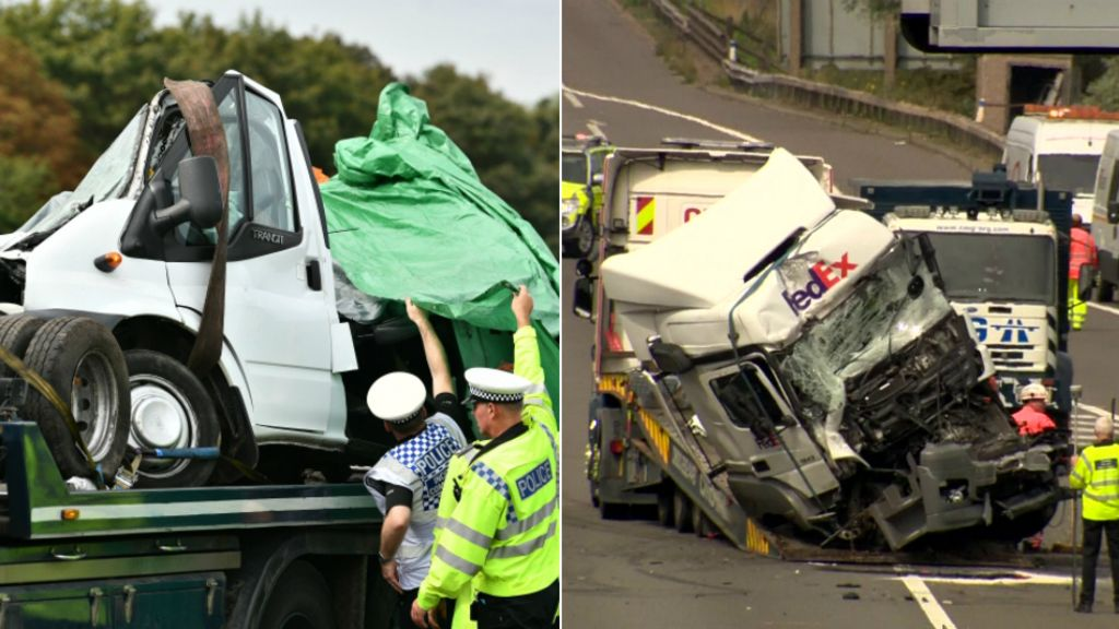 Lorry driver due in court over M1 crash deaths