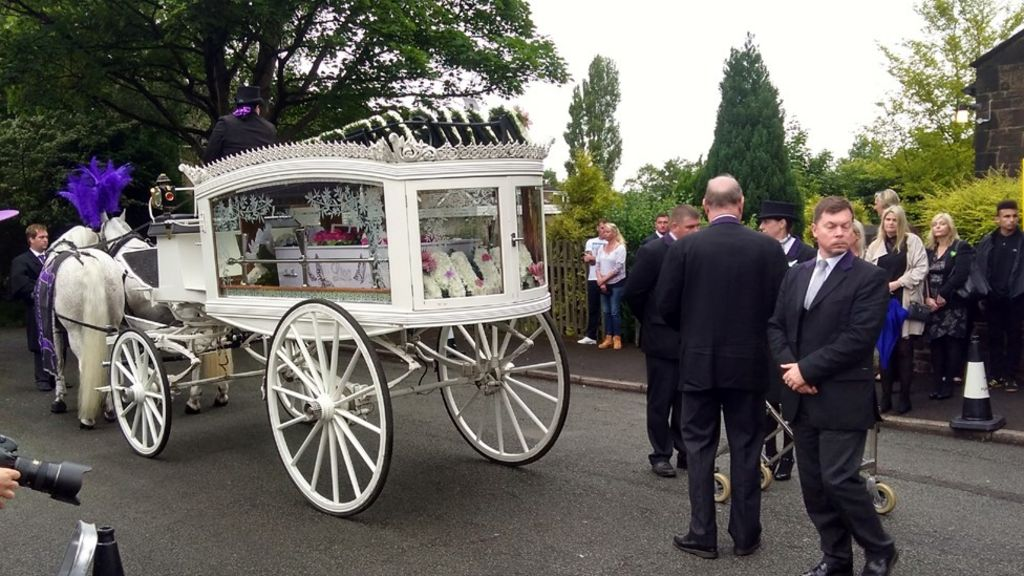 Manchester attack: Funeral for victim Lisa Lees