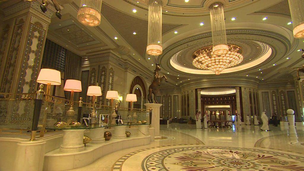 Inside Saudi Arabia S Gilded Prison At Riyadh Ritz Carlton