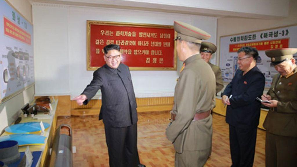 North Korea flaunts plans for new ballistic missiles