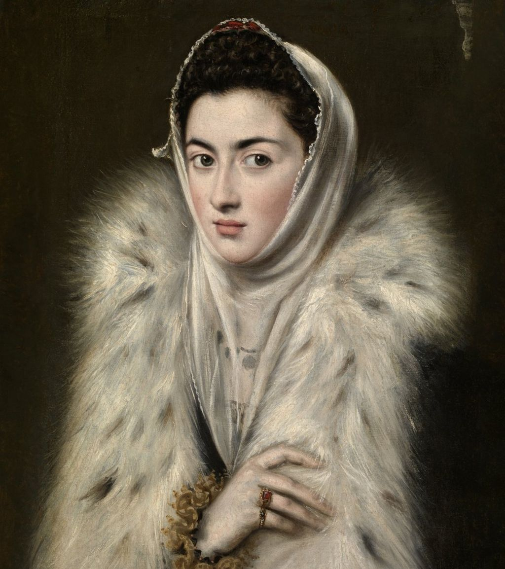 experts tackle mystery of  u0026 39 el greco u0026 39  lady in a fur wrap