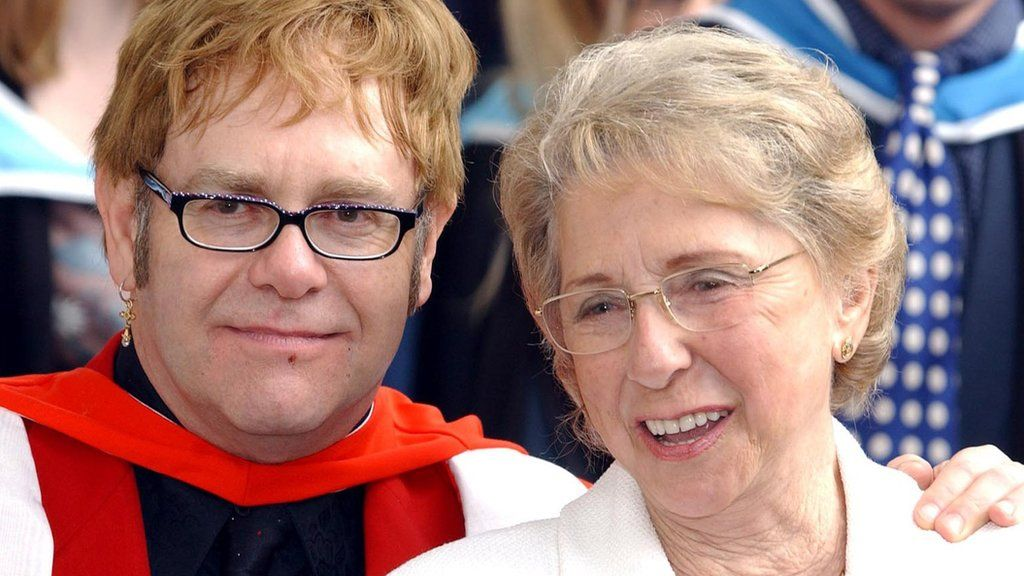 Sir Elton John 'in shock' after his mother dies aged 92