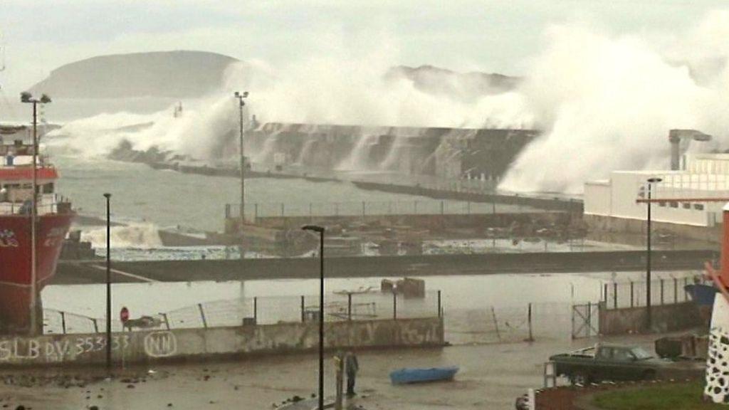 Pico Island Storm Surge Feb
