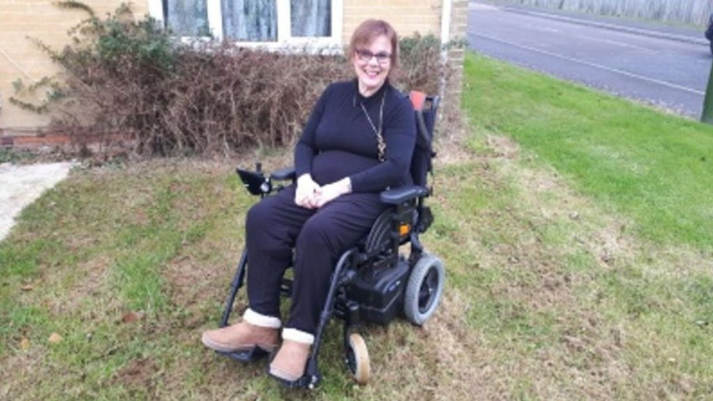 DVLA addresses letter to 'multiple sclerosis Caron'