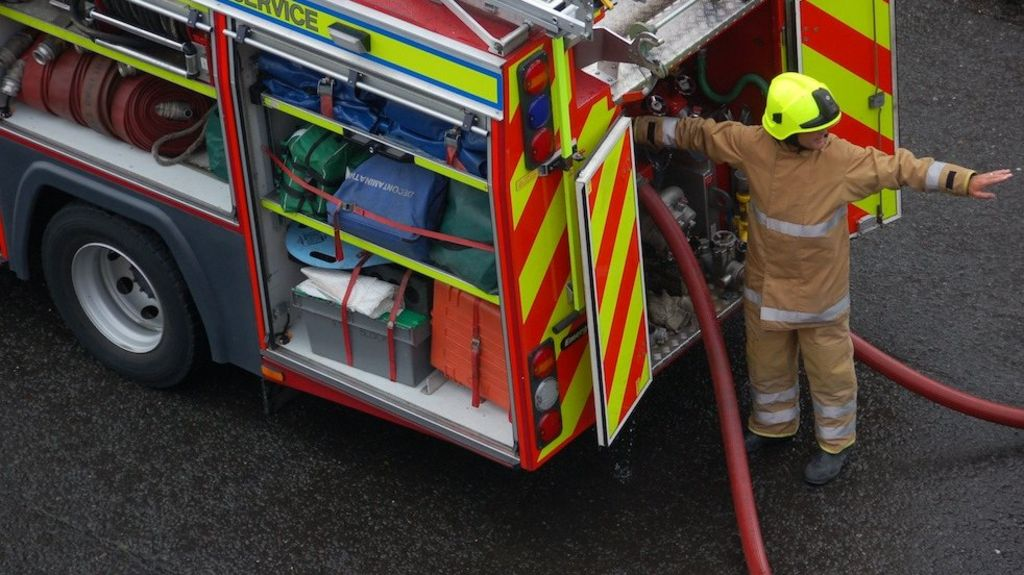 Firefighters attacked after tackling blaze