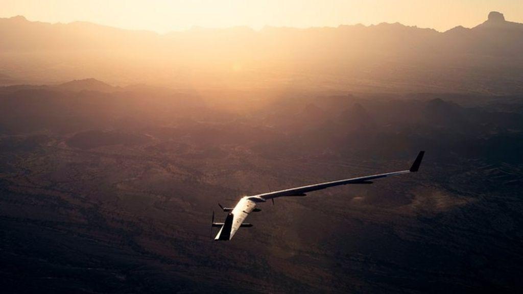 Facebook drone in successful test flight