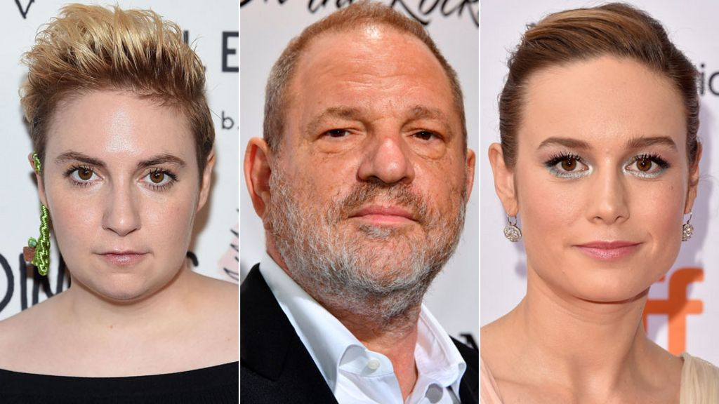 Hollywood reacts to Harvey Weinstein claims