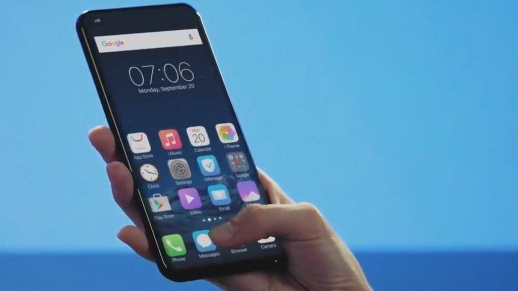 Under-screen fingerprint sensor unveiled
