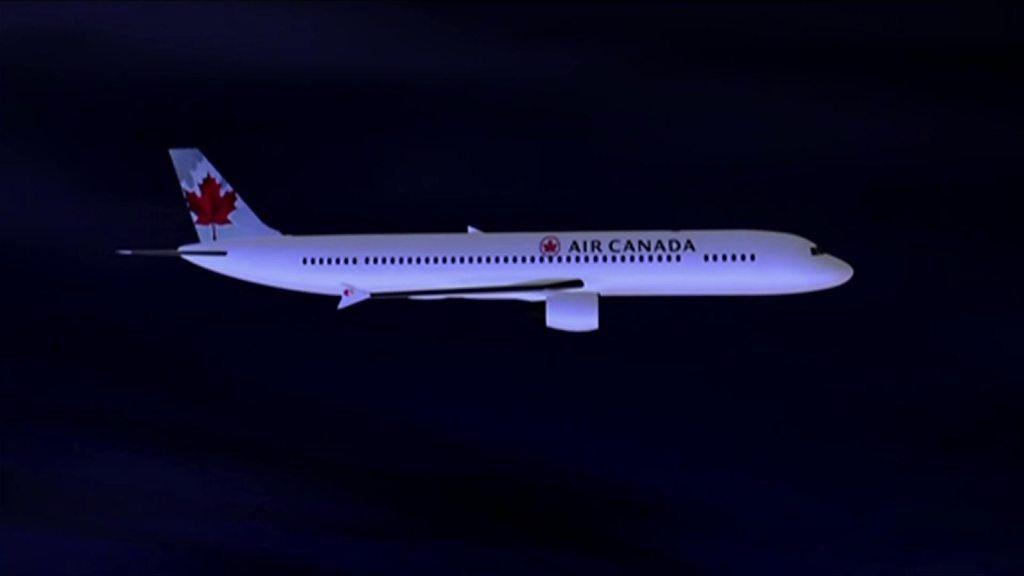 Plane near-miss audio released