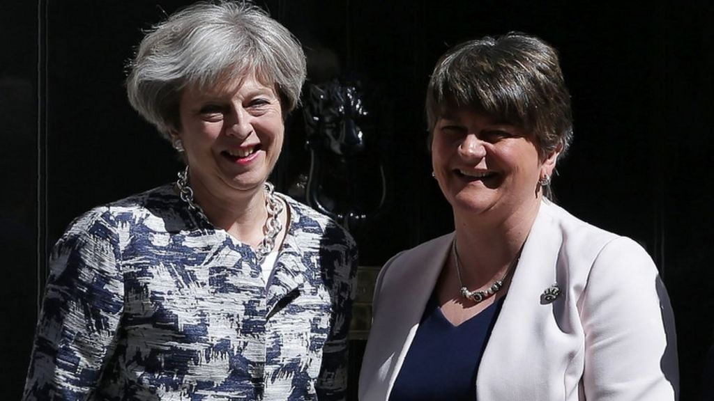 'No money for Scotland' through DUP deal – BBC News