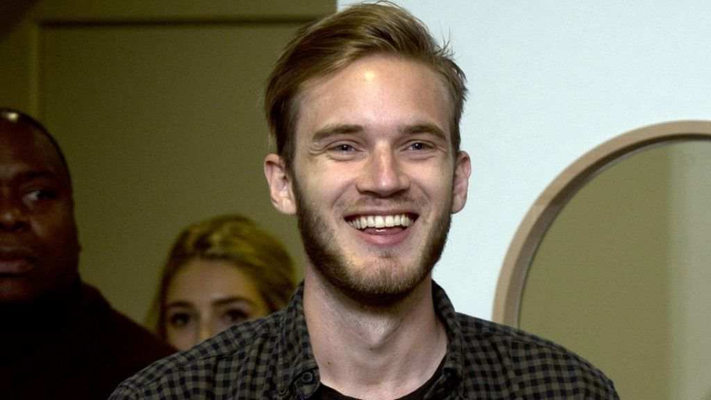 YouTube star PewDiePie makes racial slur