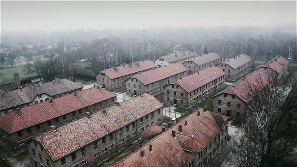 Auschwitz  Drone Footage From Nazi Concentration Camp