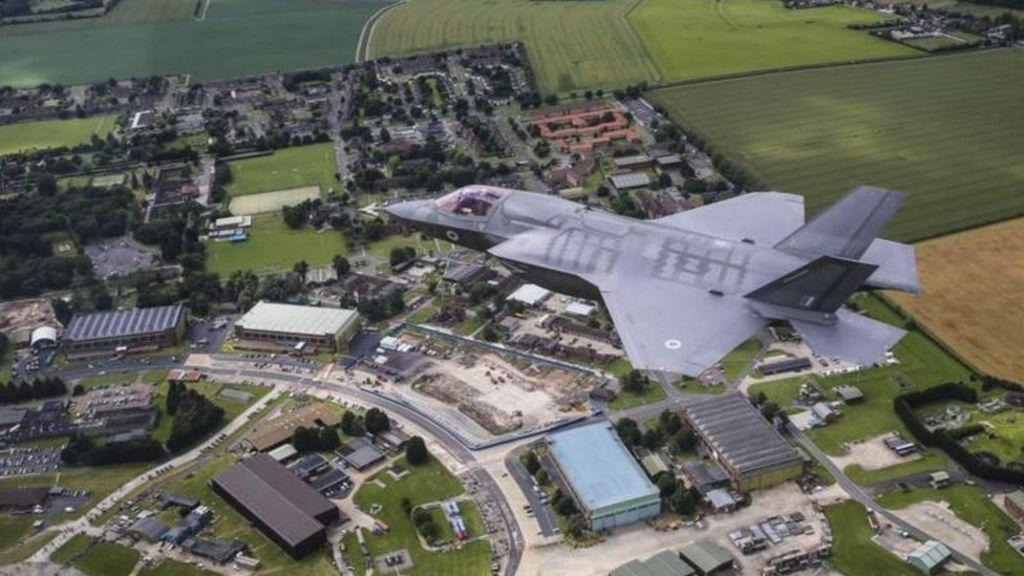 RAF Marham: MoD to spend £135m on F-35 jets airbase