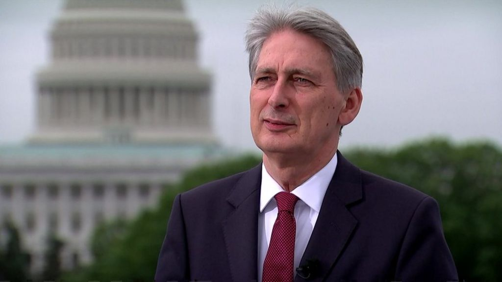 Philip Hammond says criticism over Brexit comments 'absurd'