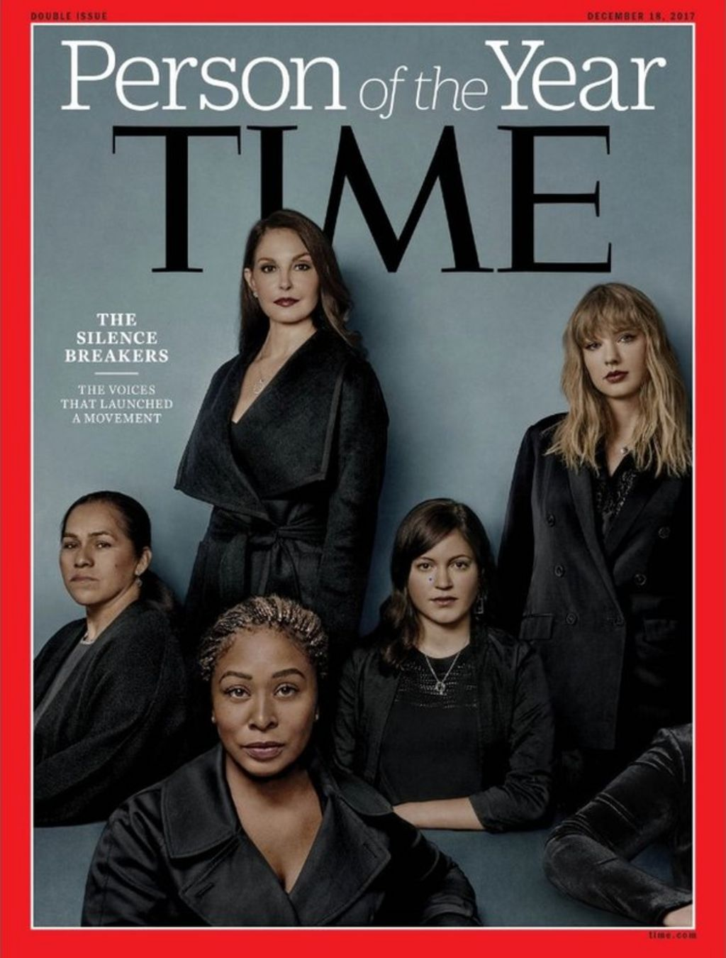 Time honours 'silence breakers' on abuse