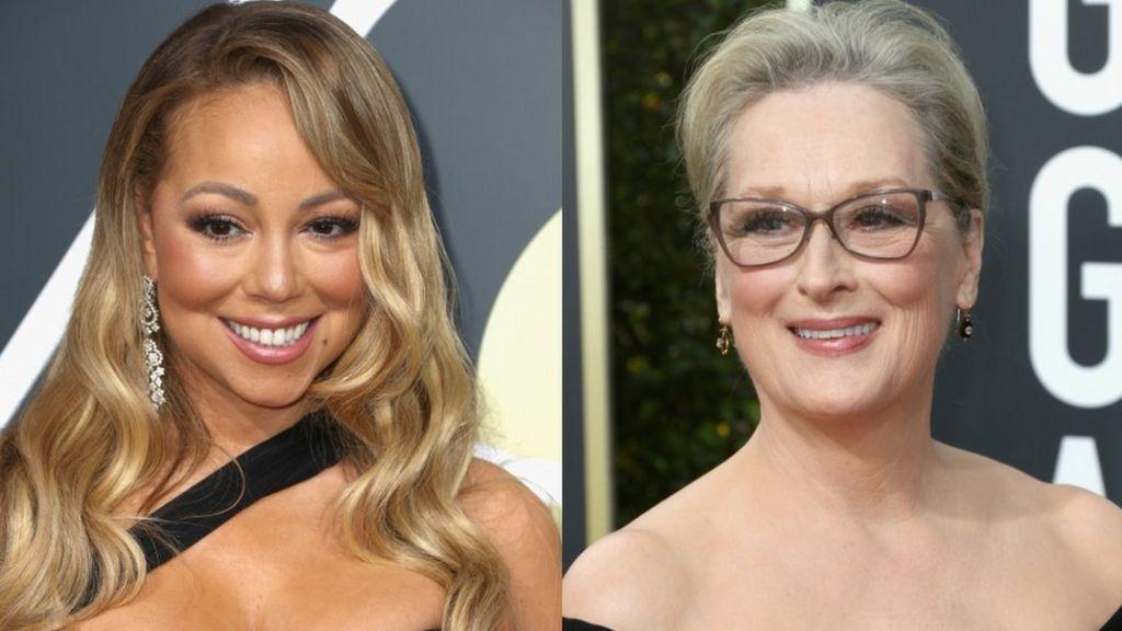 Meryl Streep and Mariah Carey had a major Globes mix-up