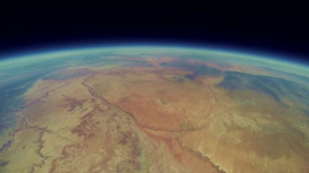 Recovered Space Balloon Camera Reveals Footage Of Fall
