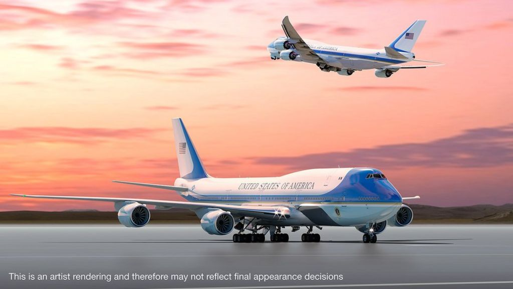 Trump wants the new Air Force One planes to be increased in size, after hearing that the Emir of Kuwait had a bigger plane