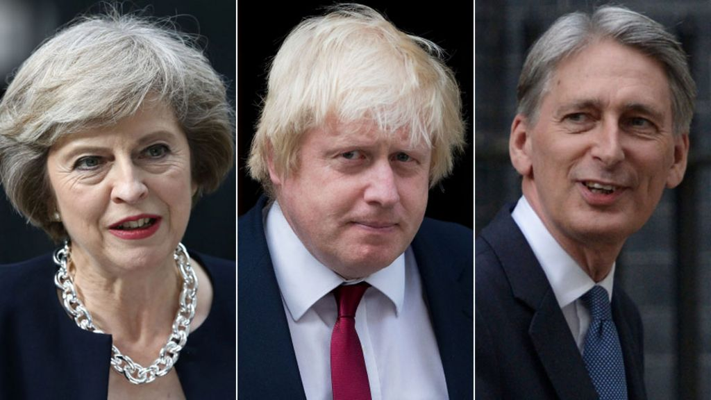 Boris Johnson made foreign secretary by Theresa May
