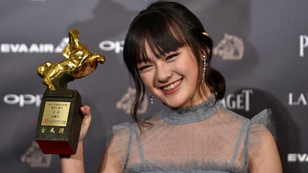 Vicky Chen: Teen actress beats veterans at Golden Horse awards