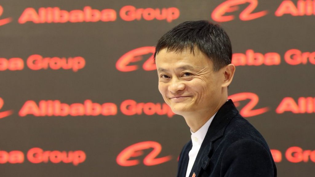 Alibaba's Jack Ma courts US firms