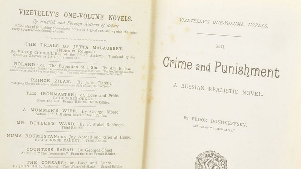 motifs in crime and punishment essays Themes themes are the fundamental and often universal ideas explored in a literary work alienation from society alienation is the primary theme of crime and punishmentat first, raskolnikov's pride separates him from society.