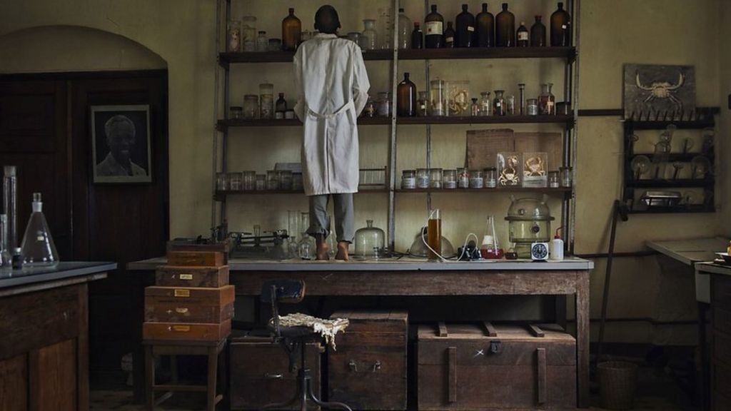 Medical research centre frozen in time