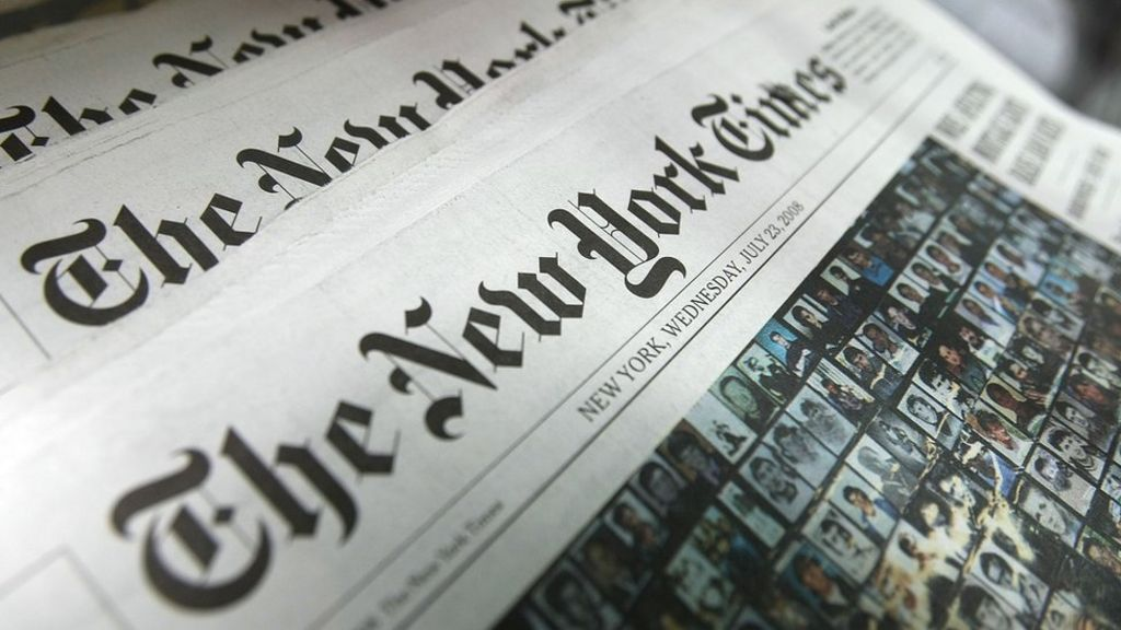 Apple pulls New York Times app from China app store - BBC News