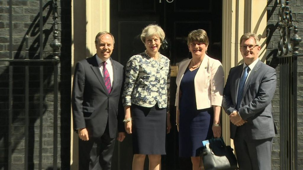 DUP-Tory deal signed in Downing Street – BBC News