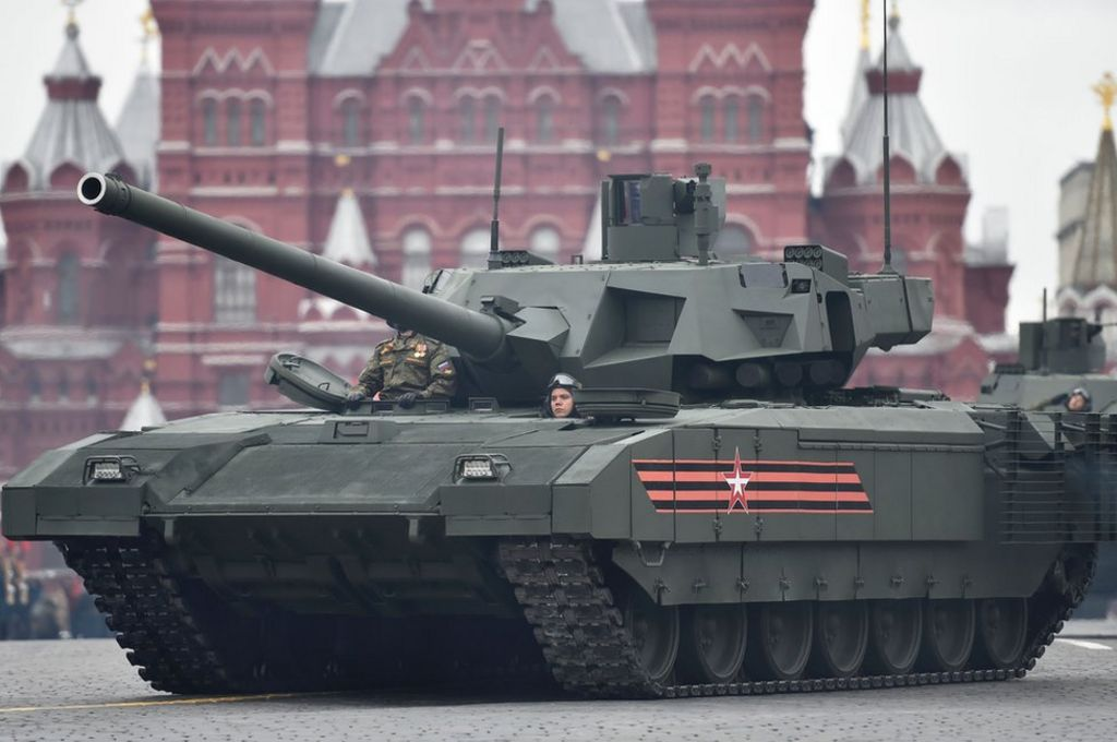 should russia 39 s new armata t 14 tanks worry nato bbc news. Black Bedroom Furniture Sets. Home Design Ideas