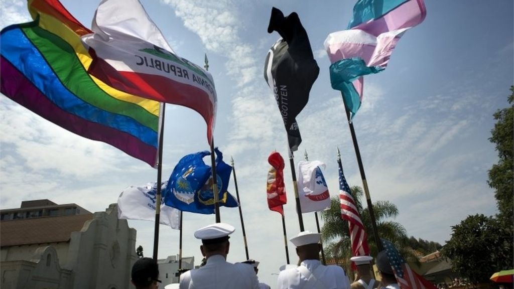 Trump: Transgender people 'can't serve' US military