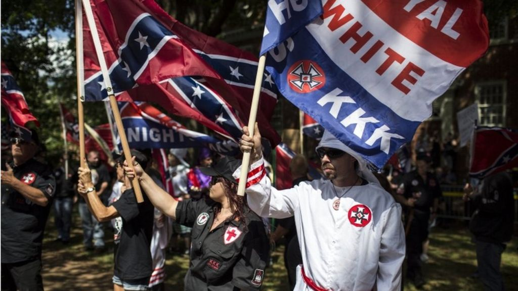White Supremacy Are US Rightwing Groups On The Rise BBC News - A map of us after white supremcists take over