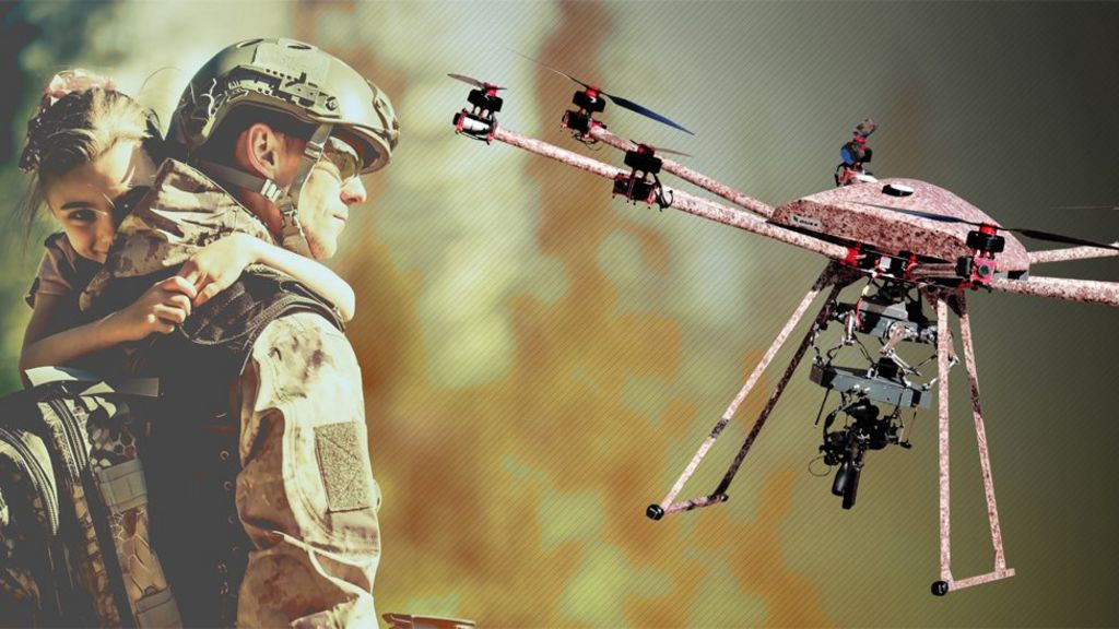 US firm reveals gun-toting drone that can fire in mid-air
