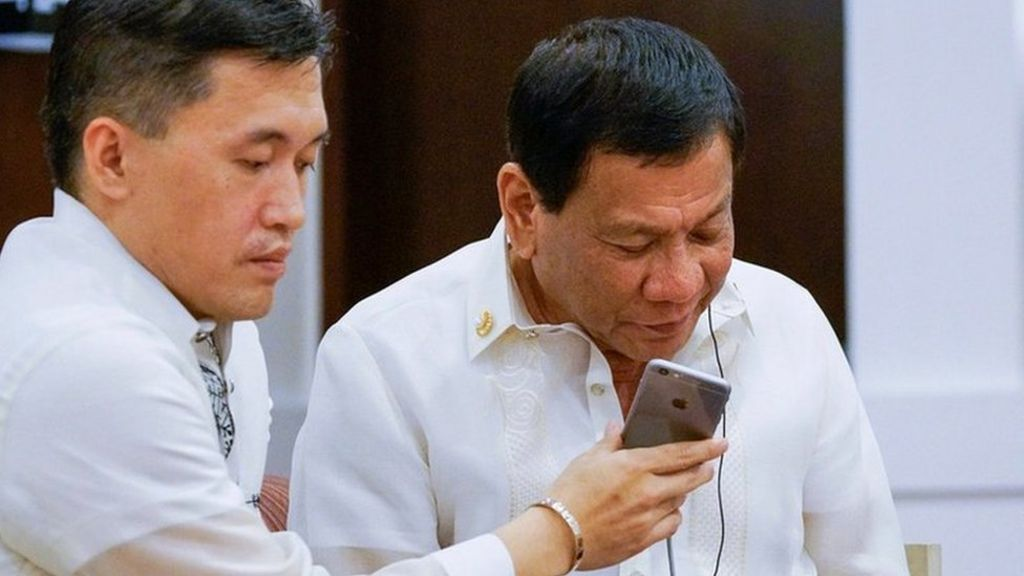 Duterte invited to the White House