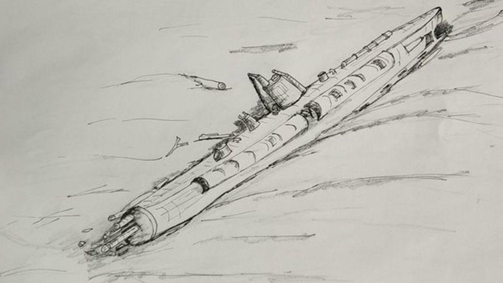 German Ww1 U Boat Found Off Belgian Coast Bbc News