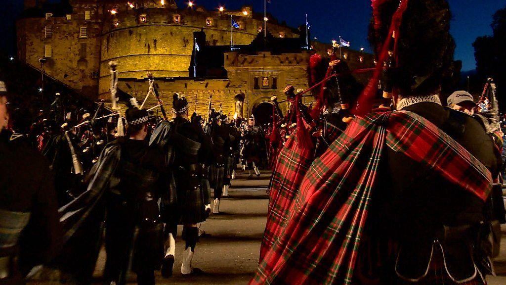 Taking the Edinburgh Military Tattoo to millions on TV