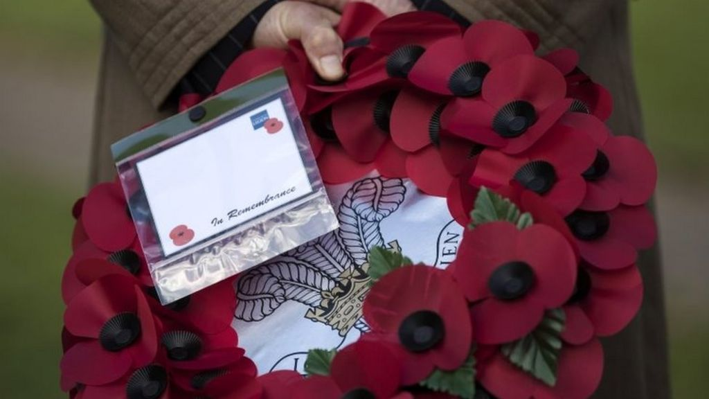Armistice Day: Two minutes' silence to mark remembrance
