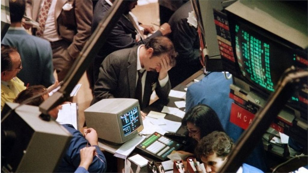 Black Monday 1987: 'Our jaws hit the desk'