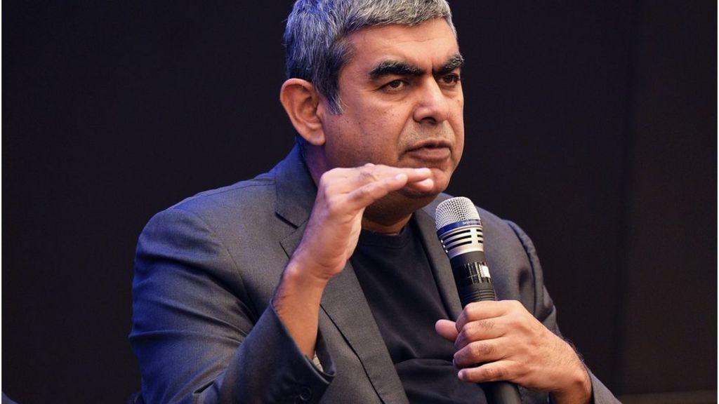 bbc.co.uk - Infosys chief executive Vishal Sikka resigns - BBC News