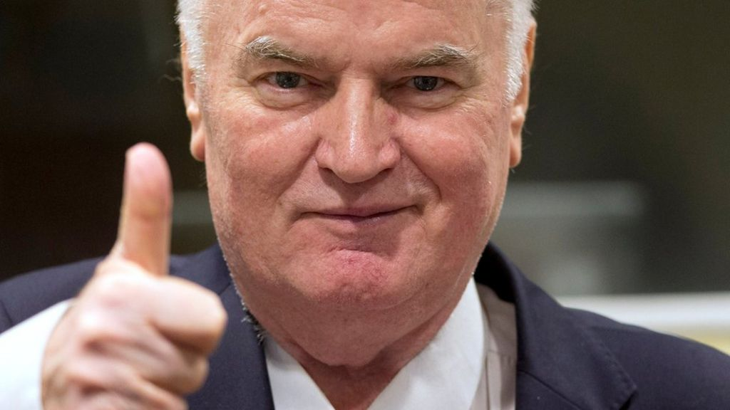Ratko Mladic removed from war crimes court
