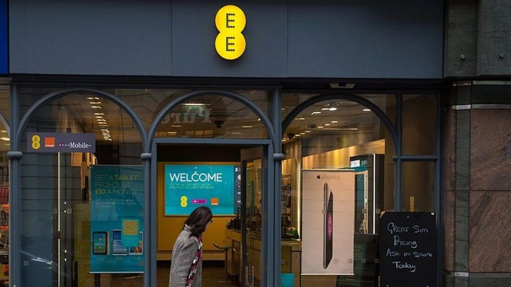 EE broadband network suffers fault