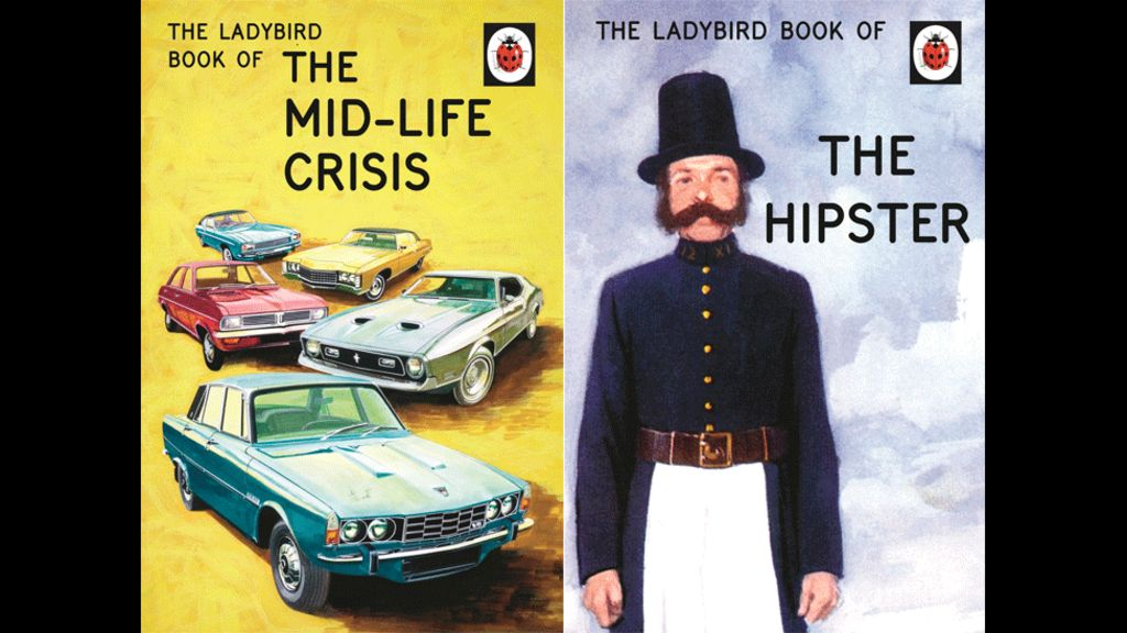 Spoof Ladybird books target adults