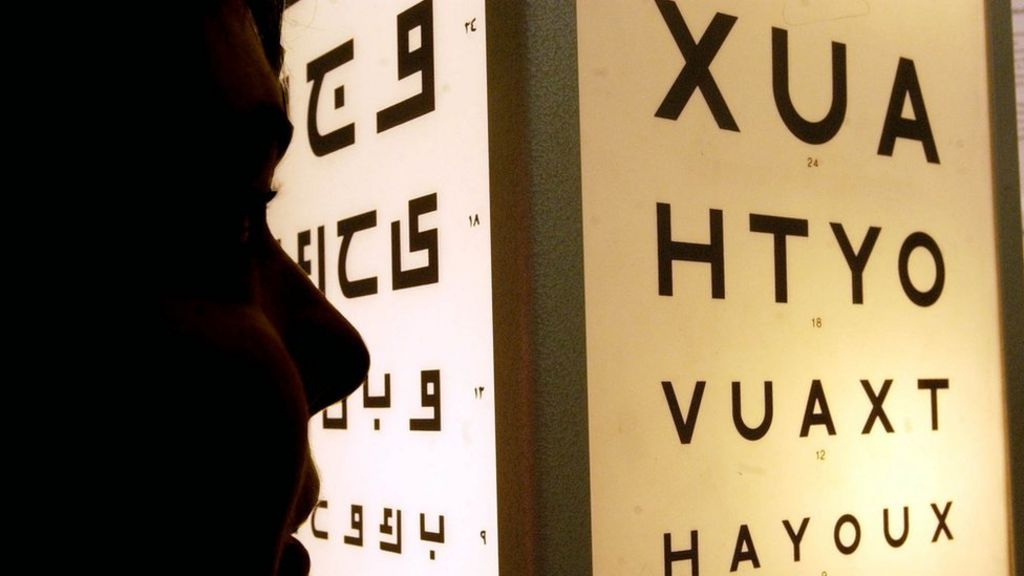 Care home resident 'given sight test' while asleep