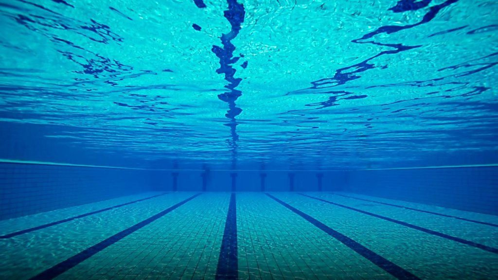 What 39 s secretly in the swimming pool water bbc news for Swimming images