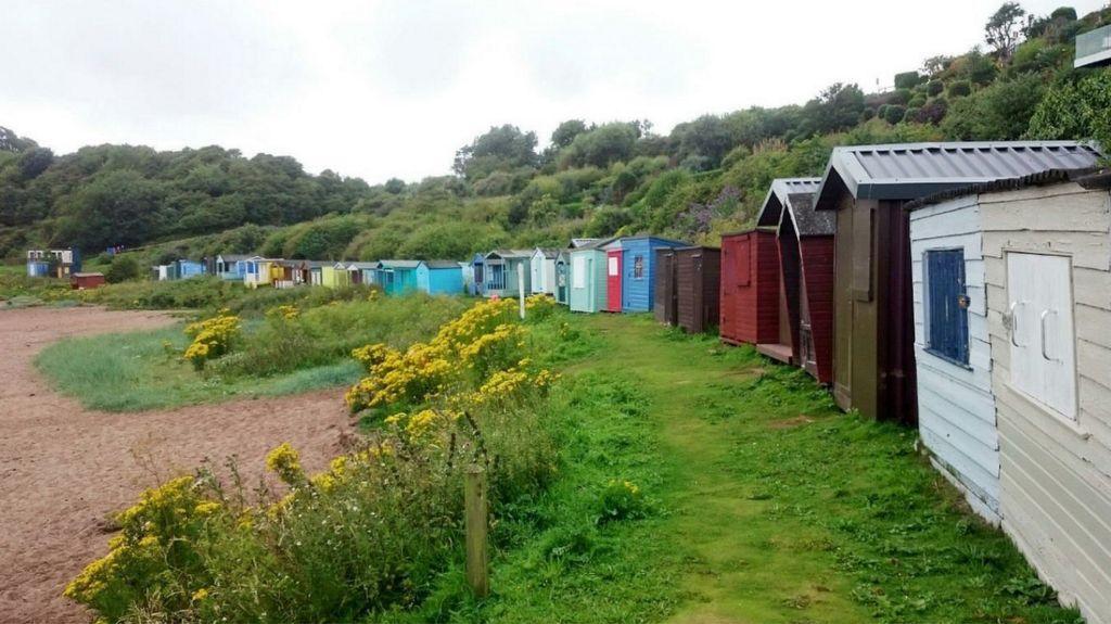 Coldingham bay beach hut expansion plans approved bbc news for Beach hut plans