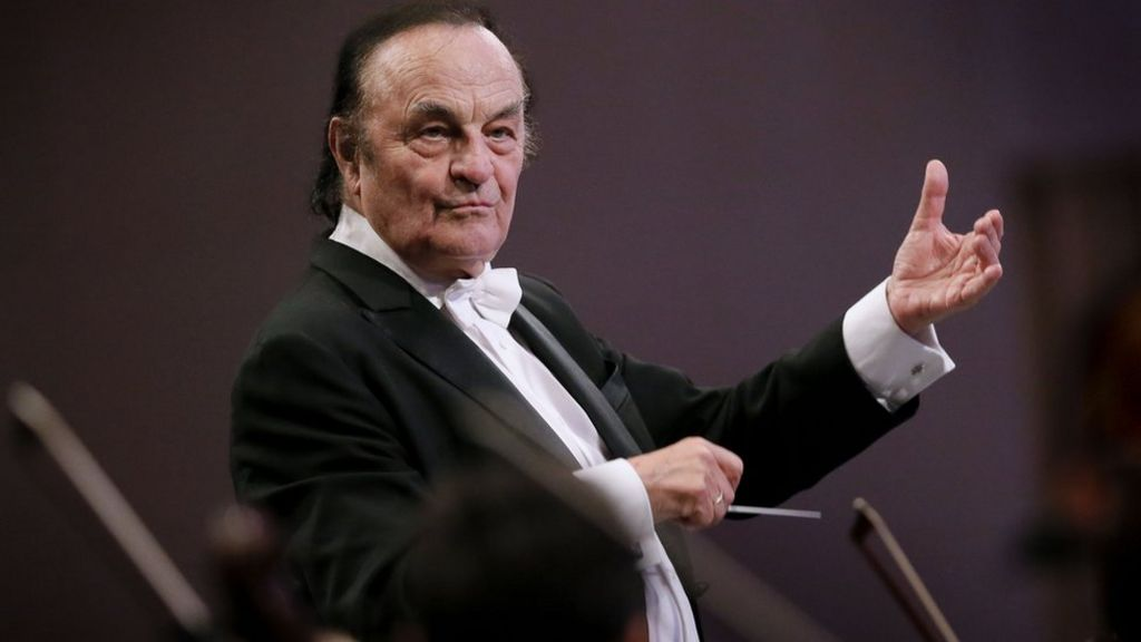 Conductor Charles Dutoit denies 'forced physical contact' claims