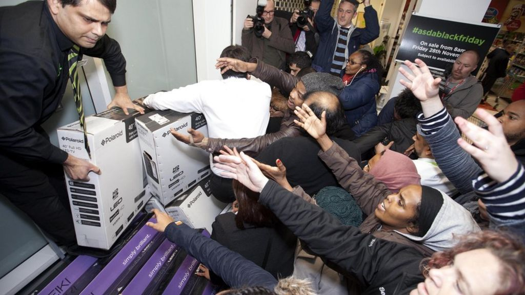 Black Friday 'bonkers' for retailers