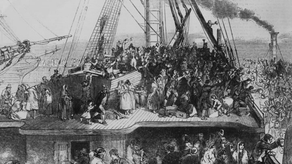the immigration of people to the us during the 18th century The welsh in north america  significant numbers of people  the growth of the iron industry in the valleys from the mid 18th century and the.
